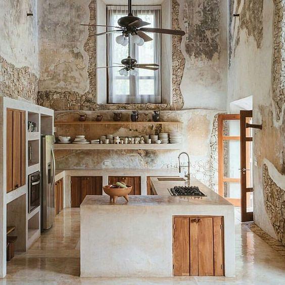 кухня в рустік стилі