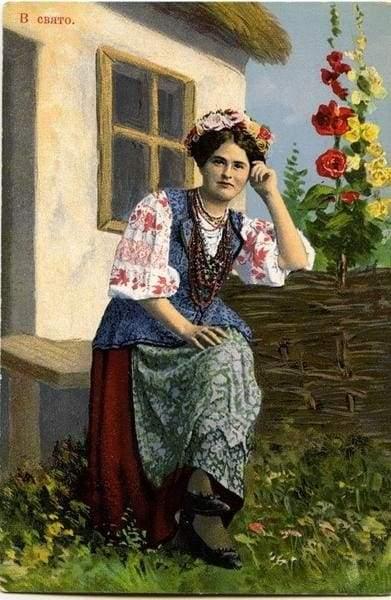 украинская причёска