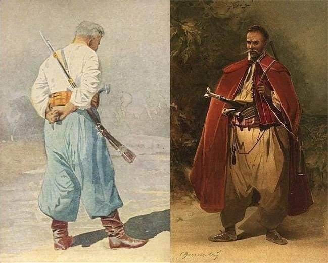 Zaporozhian kozak