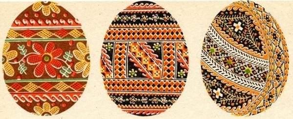 традиційні гуцульські писанки