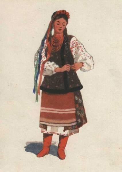 украинская женщина