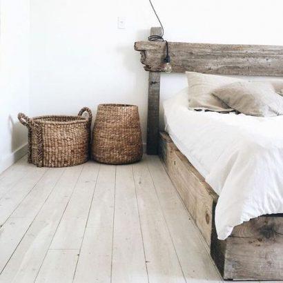 спальна кімната в стилі рустік