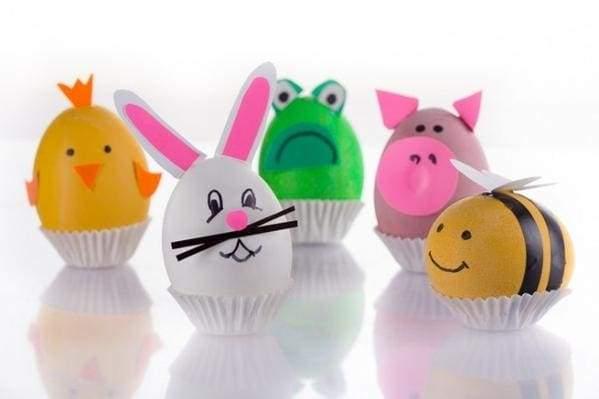 милые праздничные яйца