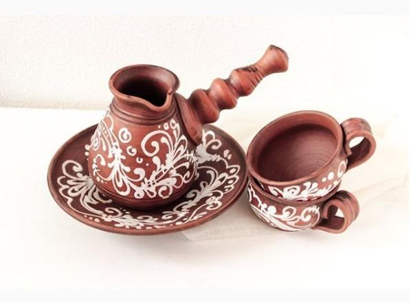 rustic clay set