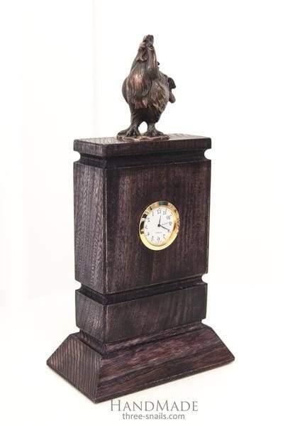 Luxury wooden clock